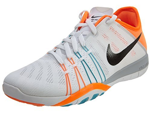official photos ab919 9e9c7 Womens Nike Free TR 6 Training Shoes White Gamma Blue Total Orange  833413-101 Size 6 - Buy Online in Oman.   Shoes Products in Oman - See  Prices, ...