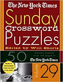 The New York Times Sunday Crossword Puzzles Volume 29: 50