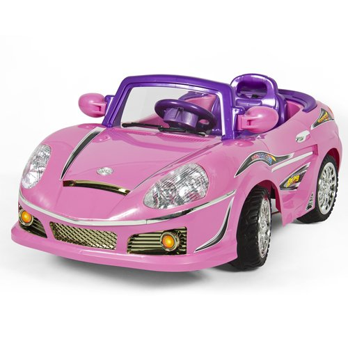 Best Choice Products 174 Pink Mp3 Kids Ride On Car R C Remote