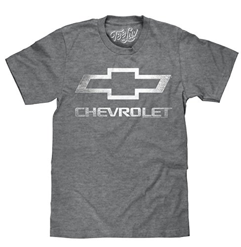 Chevrolet Logo T-Shirt  Soft Touch Fabric-XX-Large Graphite Heather - Chevy Truck T-shirt