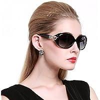Duco Shades de la mujer Classic Oversized polarizadas anteojos de sol protección UV 100% 1220