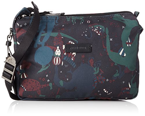 Piero Guidi Magic Circus Camouflage Borsa a Tracolla, 24 cm, Giungla
