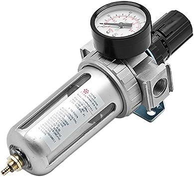 Filter Pressure regulator lubricator Fully Automatic Drain  1//4 Bsp For Air