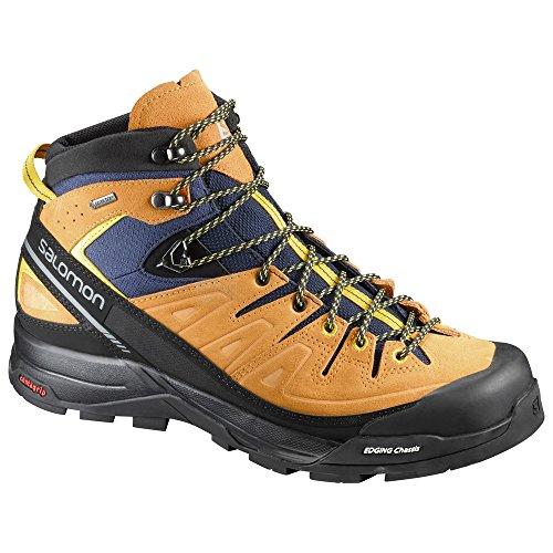 Salomon X Alp Mid LTR GTX, Stivali da Escursionismo Alti Uomo arancione