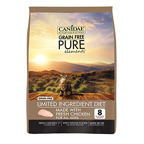 Canidae Grain Free Pure Elements Cat Dry Formula With Fresh Chicken, 10 -