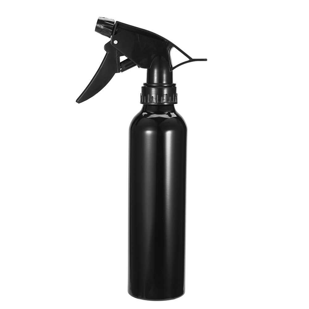 Tattoo Spray Bottle Professional Water Makeup Tool Aluminum Black Silver 250 ml (Black) by Zerone (Image #3)