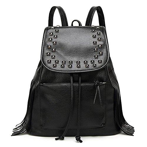 Aoligei Lady sac à dos unique épaule sac version coréenne tendance loisirs mode étudiant gland