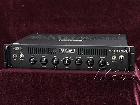 Mesa Boogie M6 Carbine · Cabezal bajo: Amazon.es: Instrumentos ...