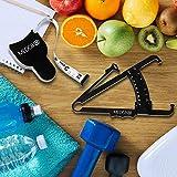 Body Fat Caliper and Measuring Tape for Body