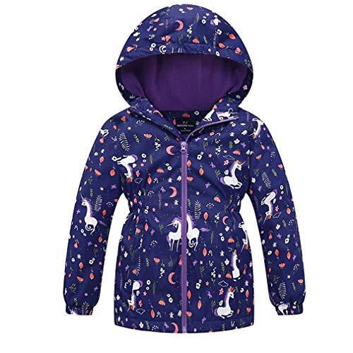 zaring Girls Zip Hoodie Sweatshirt Children Coat Cartoon Jacket Outwear Doll Surprise