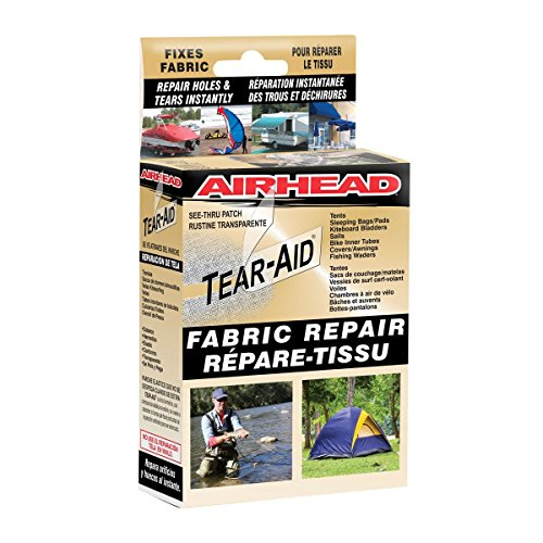 (Kwik Tek Orange Cycle Parts Tear Aid Type A Fabric Repair Patch Kit by Airhead AHTR-1A)