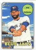 #9: 2018 Topps Heritage #139 Jose Bautista Blue Jays MLB Baseball Card NM-MT