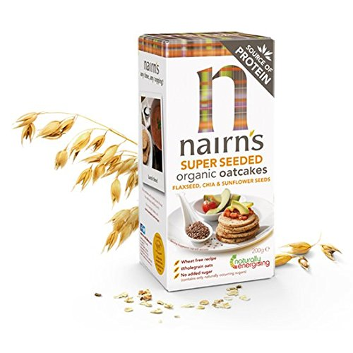 Nairns - Oatcakes 200 [並行輸入品] B071G8SLBC