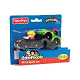 Fisher-Price Little People Wheelies 2-Pack - 4x4 and Sports Car