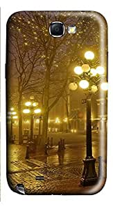 Samsung Note 2 Case London 5446 3D Custom Samsung Note 2 Case Cover