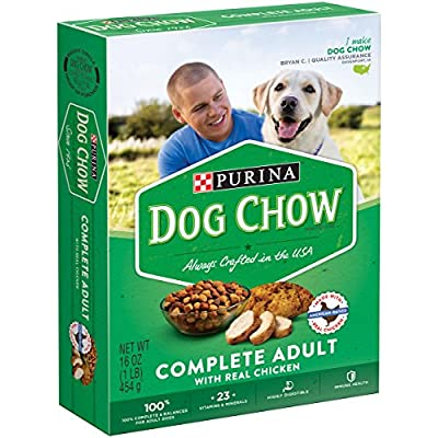 Dog Chow - Complete & Balanced Dog Food, 16 oz,(Purina)