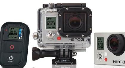 【GoPro NIPPON国内正規品】 GoPro HERO3 ブラックエディション アドベンチャー CHDHX-301-JP