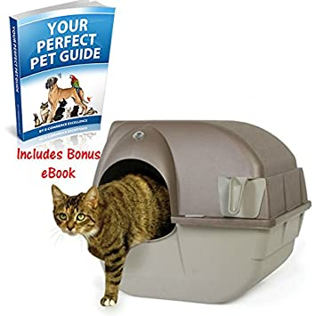 amazing self cleaning litter box quick easy to clean your cat will enjoy the