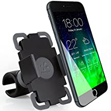 Koomus BikePro Smartphone Bike Mount Holder Cradle for iPhone 6, 6 Plus, 5S, 5C, 5, Samsung Galaxy and All Smartphones, Retail Packaging, Black