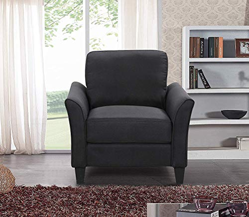 Living Room Furniture Armchair Accent Chair Fabric Single Sofa Upholstered Arm Chair
