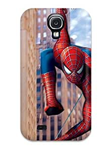 Snap-on Case Designed For Galaxy S4- Spiderman Cartoon