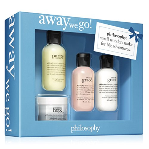 - Philosophy 4‑pc. Away We Go! Gift Set