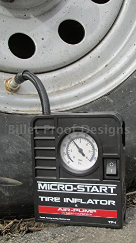Antigravity Batteries AG-MSA-9 Tire Inflator (Pump 12 Basketball Power Inch)