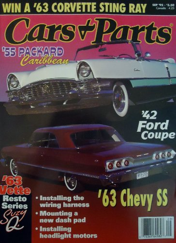 Cars & Parts Magazine September 1995 Vol. 38, #9, 1955 for sale  Delivered anywhere in USA