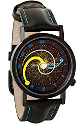 Higgs Boson Large Hadron Collider Unisex Analog Water Resistant Novelty Gift Watch