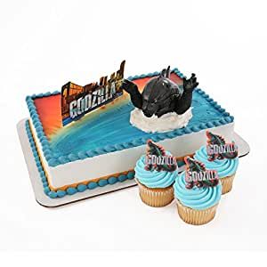 Amazon Com Godzilla Officially Licensed Cake Topper And
