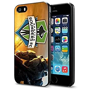 diy zhengSoccer MLS Seattle Sounders FC , Cool iphone 5c Smartphone Case Cover