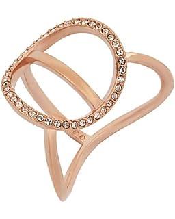 cccf8913cdf Swarovski Women Stainless Steel Piercing Ring - 5351323: Amazon.co ...