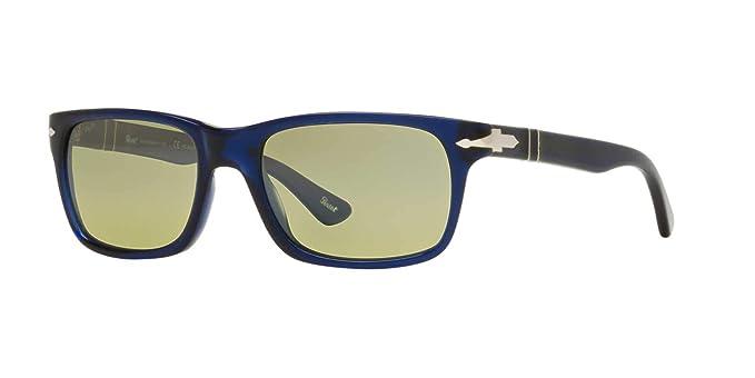 57cdfb8937 Amazon.com  Persol Mens Sunglasses (PO3048) Blue Green Acetate - Polarized  - 55mm  Shoes