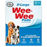 Wee Wee Dog Pee Pads Extra Large | 21 Count | Puppy Training Pee Pads for Dogs | XL Size