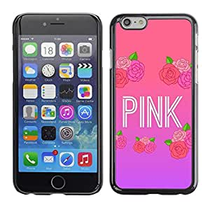 Plastic Shell Protective Case Cover || Apple iPhone 6 || Music Artist Text Love @XPTECH