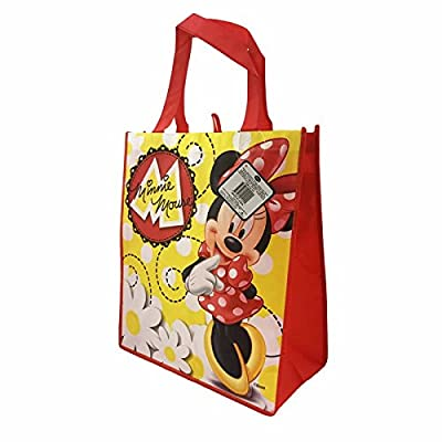 Disney's Minnie Mouse Daisy Reusable Large Tote Bag for Kids, Teens, and Adults!
