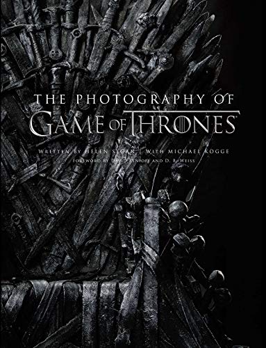 The Photography of Game of Thrones, the official photo book of Season 1 to Season 8 (Best Photos Of 2019)