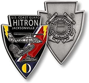 Coast Guard Hitron, Jacksonville, FL Challenge Coin from Northwest Territorial Mint