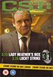 CSI Crime Scene Investigation - Official DVD Collection - Lady Heather's Box & Lucky Strike