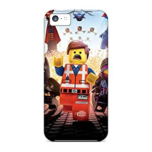 Protector Hard Phone Cover For Iphone 5c With Provide Private Custom High-definition The Lego Movie Skin PhilHolmes