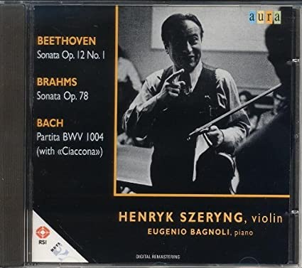Violin Sonata.1 / 1 / Partita.2: Szeryng
