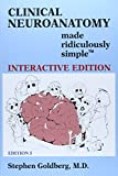 Clinical Neuroanatomy Made Ridiculously Simple by Stephen Goldberg (15-Mar-2014) Paperback