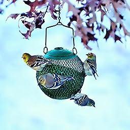 No/No GSB00344 Green Seed Ball Wild Bird Feeder