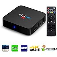 MX Pro Android 5.1 Smart Tv Box 1GB DDR3 8GB Rom 4K Amlogic S905 64Bits Super HD Mini PC Media Streaming Player with WIFI HDMI DLAN Cable Best Selling