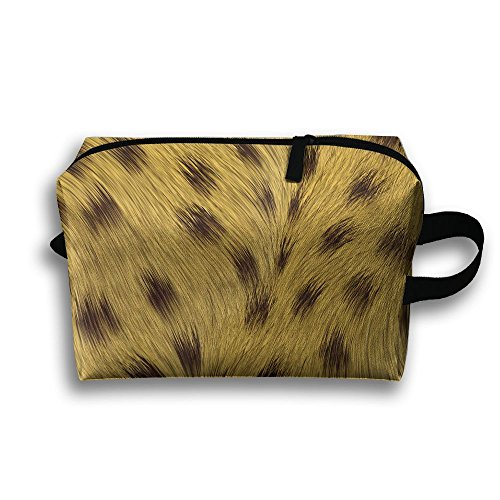 Leopard, Skin Animal Texture, Background Travel / Home Use Storage Bag, Clothing Storage Space, Foldable Carrying Bags, Organizers Pack Set by JIEOTMYQ