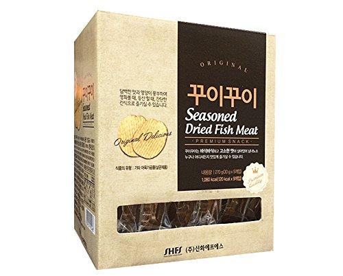 [Shinhwa] Korean Seasoned Dried Fish Meat - Kku-i kku-i