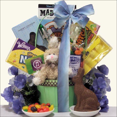 Gift baskets boys would love on easter webnuggetz boys personalized easter basket greencheck price slam negle Image collections