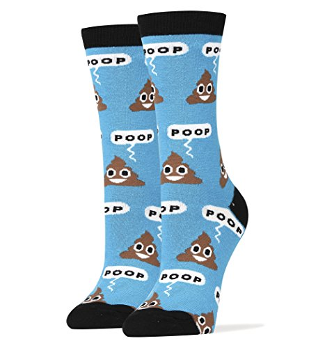 Oooh Yeah Socks Women's Luxury Combed Cotton Funny (POOP!) (Outfits For Tweens)