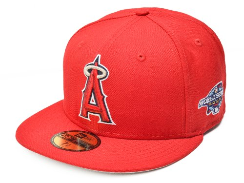 Los Angeles Angels World Series - New Era 59FIFTY MLB Los Angeles Angels of Anaheim World Series 2002 Size 8