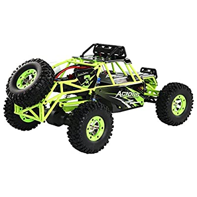 Costzon 1:12 2.4G RC Off-Road Racing Car Radio Remote Control Rock Crawler Truck RTR